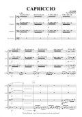 トロンボーン4重奏楽譜 CAPRICCIO  作曲:成本理香