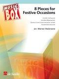 フレキシブルアンサンブル四重奏楽譜 8 Pieces for Festive Occasions 編曲/Heckmann, Werner