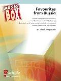 フレキシブルアンサンブル五重奏楽譜 Favourites from Russia 編曲/Hogestein, Henk
