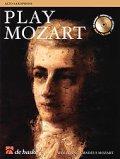 アルトサックスソロ楽譜 PLAY MOZART - ALTO SAXOPHONE (モーツアルト作品をアルトサックスで!)