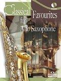 アルトサックスソロ楽譜 Classical Favourites For Alto Saxophone Easy-intrmed Book/CD