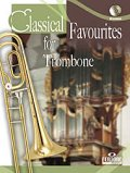 トロンボーンソロ楽譜 Classical Favourites For Trombone Easy-intrmed Book/CD