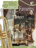トランペットソロ楽譜 Classical Favourites For Trumpet Easy-intrmed Book/CD
