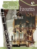 クラリネットソロ楽譜 Classical Favourites For Clarinet Easy-intrmed Book/CD