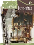 オーボエソロ楽譜 Classical Favourites For Oboe Easy-intrmed Book/CD