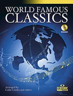 画像1: フルートソロ楽譜 WORLD FAMOUS CLASSICS - FLUTE (世界の名曲クラシック16曲収録!)