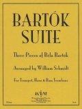金管3重奏楽譜 金管三重奏のためのバルトーク組曲 作曲/ベラ バルトーク 編曲/ウィリアム・シュミット 【2012年11月取扱開始】