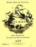 トロンボーン4重奏楽譜 4本のトロンボーンのためのアヴェ マリア 作曲/トマス ルイス デ ビクトリア 【2012年11月取扱開始】
