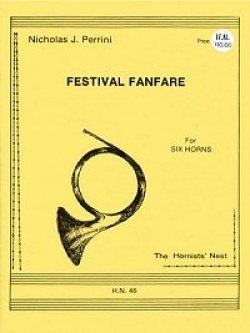 画像1: ホルン6重奏楽譜 ホルン六重奏のためのフェスティバル ファンファーレ ニコラス  作曲/ペリーニ【2012年11月取扱開始】