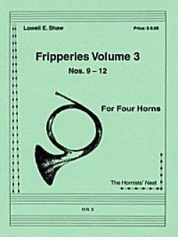 画像1: ホルン4重奏楽譜 ホルン四重奏のためのフリッパリーズVol.3 作曲/ロウェル・ショー【2012年12月取扱開始】
