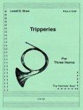 ホルン3重奏楽譜  ホルン三重奏のためのトリッパリーズ 作曲/ロウェル ショー 【2012年12月取扱開始】
