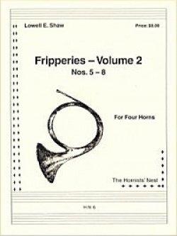 画像1: ホルン4重奏楽譜 ホルン四重奏のためのフリッパリーズVol.2 作曲/ロウェル・ショー【2012年12月取扱開始】