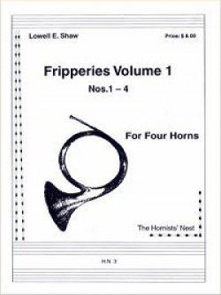 画像1: ホルン4重奏楽譜 ホルン四重奏のためのフリッパリーズVol.1 作曲/ロウェル・ショー【2012年12月取扱開始】
