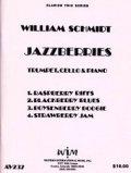 トランペット&チェロ&ピアノ楽譜 トランペット、チェロとピアノのための「ジャズベリーズ」 作曲/ウィリアム シュミット【2012年12月取扱開始】