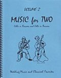 ファゴット2重奏楽譜 Music for Two - Vol. 2 Wedding & Classical Favorites