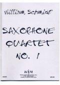 サックス4重奏楽譜 サキソフォン四重奏のための第一組曲 作曲/ウィリアム・シュミット【2012年12月取扱開始】