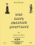 クラリネットクワイア楽譜 クラリネットクワイアのための4つの古いアメリカ霊歌 作曲/コリー タミアミ【2012年12月取扱開始】