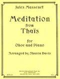 オーボエソロ楽譜 オーボエとピアノのためのタイスの瞑想曲 作曲/ジュール マスネ【2013年1月取扱開始】