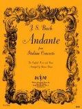 イングリッシュホルンソロ楽譜 イングリッシュホルンとピアノのためのアンダンテ 作曲/ヨハン セバスチャン バッハ【2013年1月取扱開始】