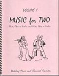 ミックス2重奏楽譜 Music for Two - Vol. 1 【Fl/Ob/Vln & Fl/Ob/Vln】