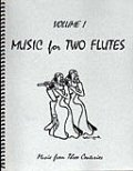 フルート2重奏楽譜 Music for Two Flutes, Volume 1