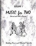 ミックス2重奏楽譜 Music for Two - Vol. 1 【Cl & Cello/Bsn】
