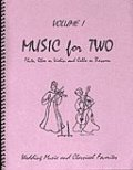 ミックス2重奏楽譜 Music for Two - Vol. 1【Fl/Ob/Vln & Cello/Bsn】