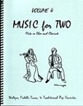 ミックス2重奏楽譜 Music for Two - Vol. 4 【Fl/Ob & Clarinet】