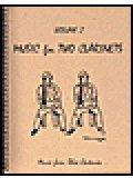クラリネット2重奏楽譜 Music for Two Clarinets - Vol. 2