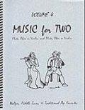 ミックス2重奏楽譜 Music for Two - Vol. 4 【Fl/Ob/Vln & Fl/Ob/Vln】