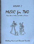 ミックス2重奏楽譜 Music for Two - Vol. 2【Fl/Ob/Vln & Cello/Bsn】