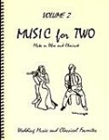 ミックス2重奏楽譜 Music for Two - Vol. 2 【Fl/Ob & Clarinet】