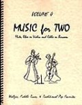 ミックス2重奏楽譜 Music for Two - Vol. 4【Fl/Ob/Vln & Cello/Bsn】