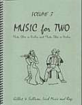 ミックス2重奏楽譜 Music for Two - Vol. 3 【Fl/Ob/Vln & Fl/Ob/Vln】