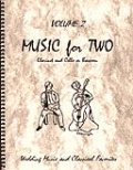 ミックス2重奏楽譜 Music for Two - Vol. 2 【Cl & Cello/Bsn】