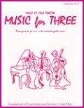 ミックス3重奏楽譜 Music for Three - Collection No. 5: Music of Cole Porter