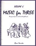 ミックス3重奏楽譜 Music for Three, Volume 6(Opera Favorites)
