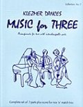 ミックス3重奏楽譜 Music for Three - Collection No. 7: Klezmer Dances