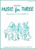 ミックス3重奏楽譜 Music for Three - Collection No. 6: Gershwin!【ガーシュィン作品集】