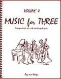 ミックス3重奏楽譜 Music for Three, Volume 4(Rags & Waltzes )