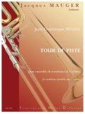 トロンボーン9重奏楽譜 ツアー・ドゥ・ピステ 作曲/メティエ 監修/ジャック・モージェ