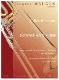 トロンボーン9重奏楽譜 ボニーとスライド 作曲/ファリオネ 監修/ジャック・モージェ