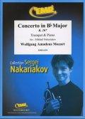 トランペットソロ楽譜 ヴァイオリン協奏曲 第1番 K.207(Concerto in Bb Major) 作曲/モーツアルト 校訂(編曲)/S.ナカリャコフ