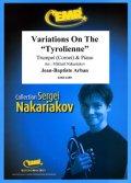 トランペットソロ楽譜 チロルの主題による変奏曲(Arban: Variations on the Tyrolienne) 作曲/アーバン 校訂(編曲)/S.ナカリャコフ