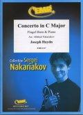フリューゲルホルンソロ楽譜 チェロ協奏曲 第1番 ハ長調(Concerto in C Major) 作曲/ハイドン 校訂(編曲)/S.ナカリャコフ