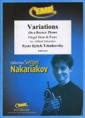 フリューゲルホルンソロ楽譜 ロココの主題による変奏曲 作品33(Variations On A Rococo Theme) 作曲/チャイコフスキー 校訂(編曲)/S.ナカリャコフ