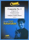フリューゲルホルンソロ楽譜 ホルン協奏曲 第1番 変ホ長調K.412(Concerto Nr. 1 in D Major) 作曲/モーツァルト 校訂(編曲)/S.ナカリャコフ