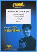 フリューゲルホルンソロ楽譜 ホルン協奏曲 第2番 ニ長調(Concerto Nr. 2 in D Major) 作曲/ハイドン 校訂(編曲)/S.ナカリャコフ
