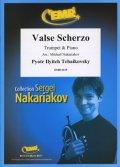 トランペットソロ楽譜 ワルツ・スケルツォ 作品34(Valse Scherzo) 作曲/チャイコフスキー 校訂(編曲)/S.ナカリャコフ
