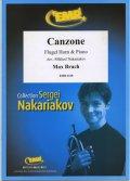 フリューゲルホルンソロ楽譜 カンツォーネ 作品55 (Canzone) 作曲/ブルッフ 校訂(編曲)/S.ナカリャコフ